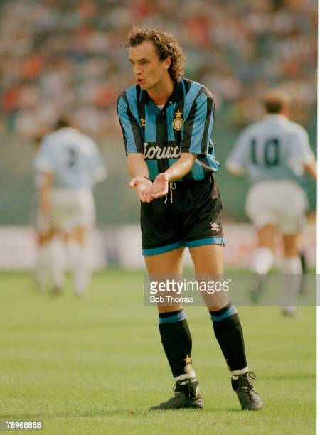 19th September 1993 Italian League Serie A Lazio 0 V Inter 0 Igor Shalimov Inter