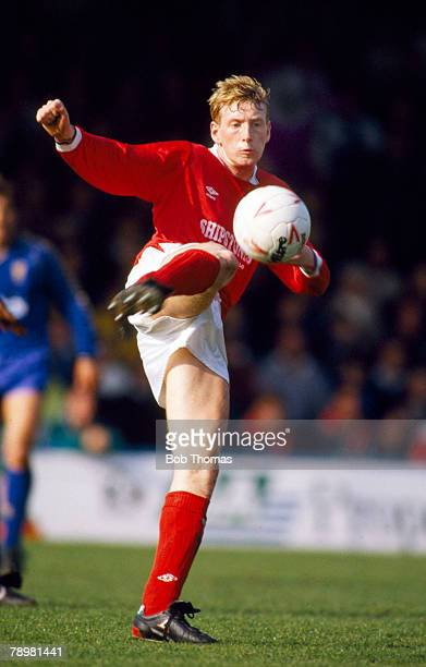 1st April 1989 Division 1 Wimbledon 4 v Nottingham Forest 1 Terry Wilson Nottingham Forest 19871992