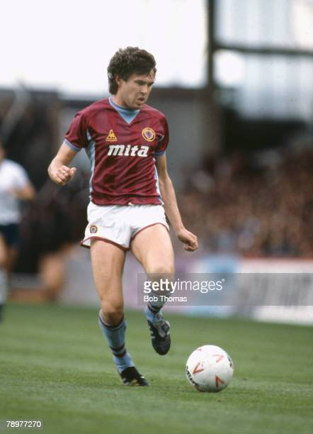 22nd September 1984 Division 1 Gary Williams Aston Villa