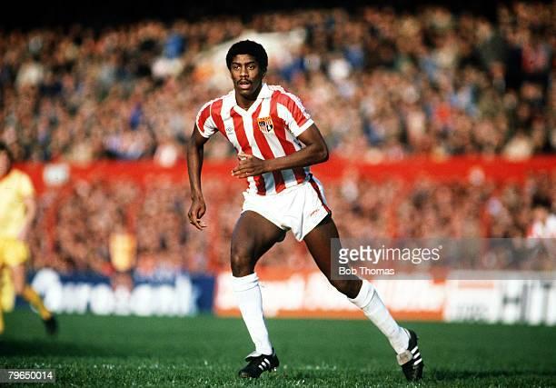 23rd October 1982 Division 1 Stoke City 1v Liverpool 1 Mark Chamberlain Stoke City