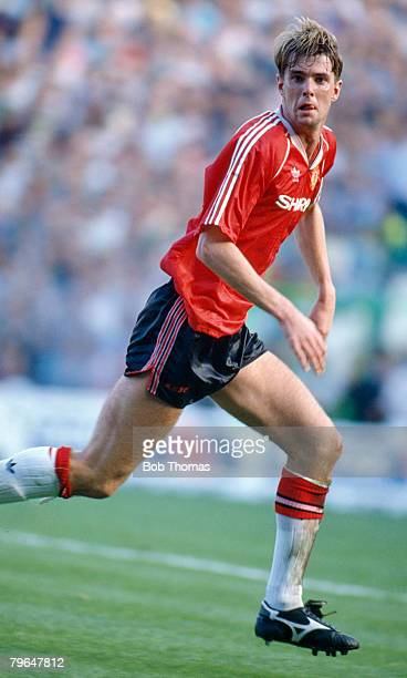 23rd September 1989 Division 1 Manchester City 5 v Manchester United 1Gary Pallister Manchester United 19891997 who went on to win 22 England caps...