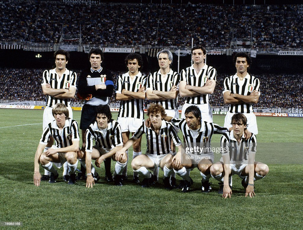 Sport Football pic 25th May 1982 European Cup Final SV