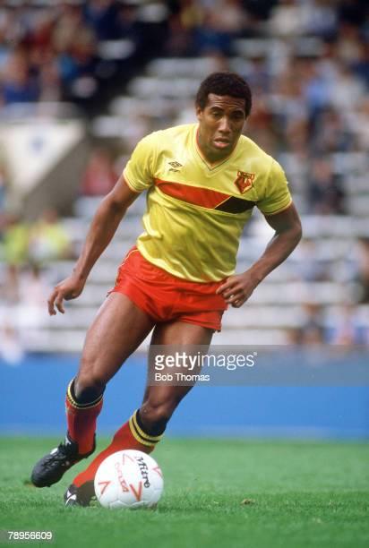 26th August 1985 Division 1 Sheffield Wednesday 2 v Watford 1 John Barnes Watford