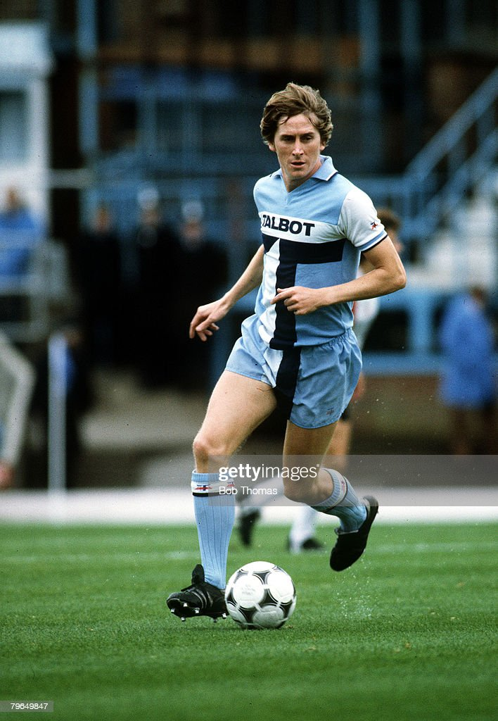 26th September 1981 Gerry Daly Coventry City