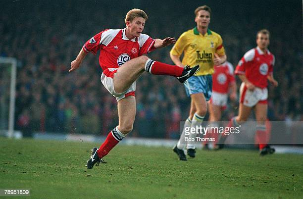 28th December 1992 Premier League Middlesbrough 0 v Crystal Palace 1 Craig Hignett Middlesbrough