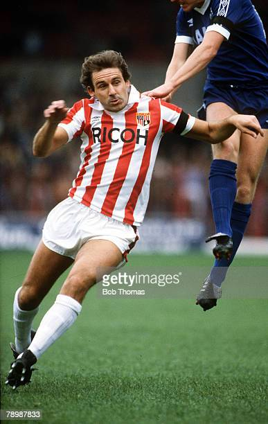 3rd October 1981 Ray Evans Stoke City