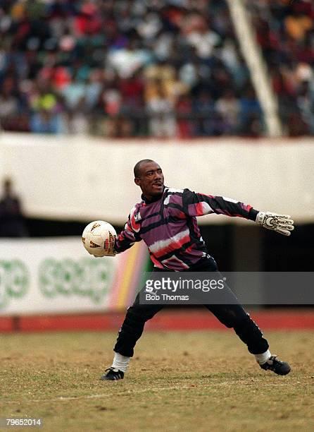 4th July 1993 World Cup Qualifier Zimbabwe 1 v Cameroon 0 JosephAntoine Bell Cameroon goalkeeper
