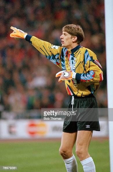 5th April 1995 European Cup SemiFinal Bayern Munich 0 v Ajax Amsterdam 0 Edwin Van Der Sar Ajax goalkeeper