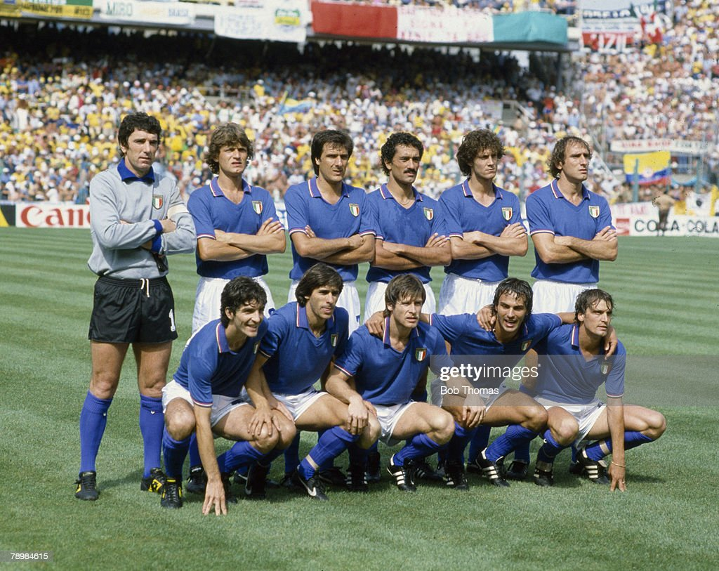 Sport Football pic 5th July 1982 1982 World Cup Finals in