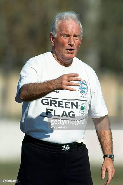 7th November 1996 England Under21 Training in Tbilisi Dave Sexton England Under21 Coach
