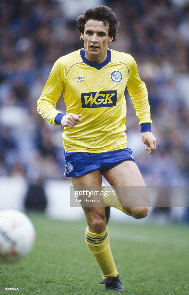 8th April 1985 Frank Gray Leeds United defender who also won 32 Scotland international caps between 19761983
