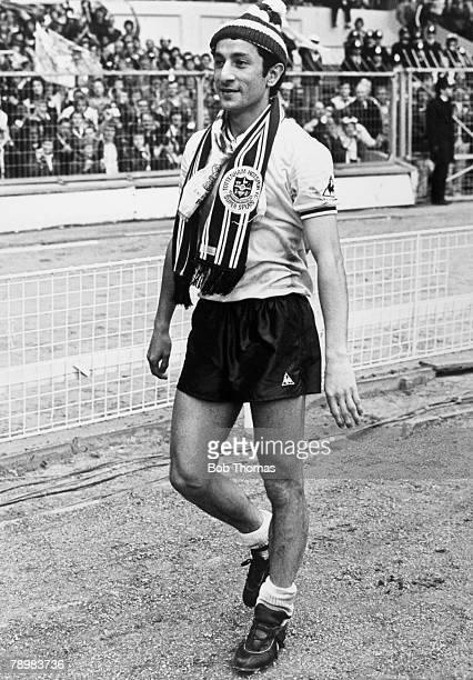 9th May 1981 FA C up Final at WembleyTottenham Hotspur 1 v Manchester City 1 aet Tottenham Hotspur's Osvaldo Ardiles walks back to the dressing room...