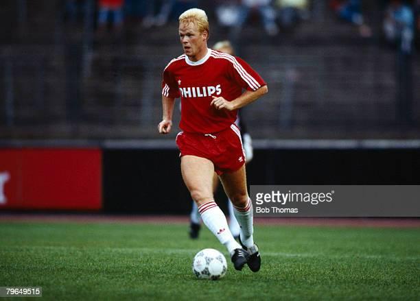 August 1988 Ronald Koeman PSV Eindhoven