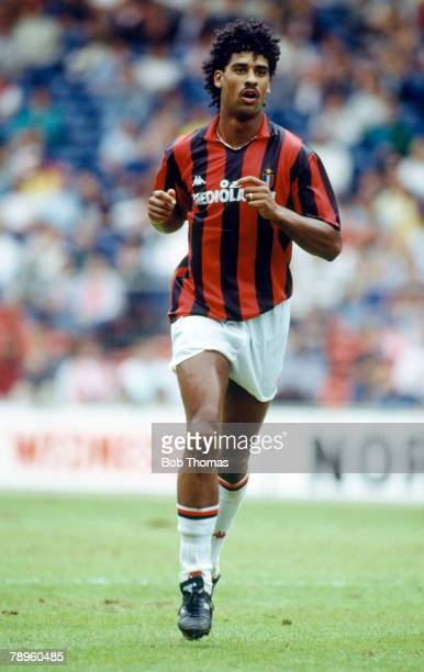 August 1988 Wembley International Tournament Frank Rijkaard AC Milan