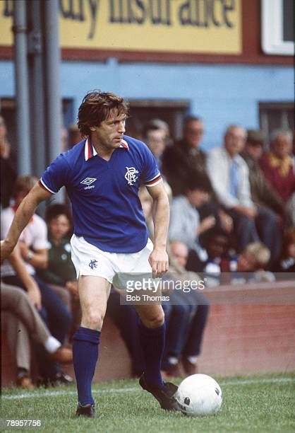 circa 1970's Willie Johnston Glasgow Rangers who won 22 Scotland international caps between 19661978