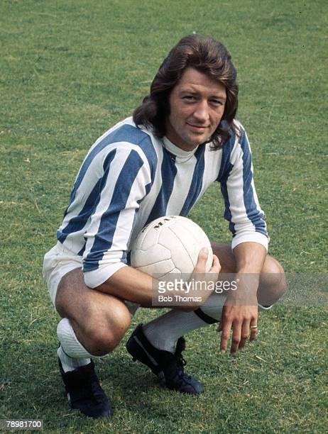 circa 1972 Frank Worthington Huddersfield Town striker Frank Worthington won 8 England international caps between 19741975
