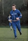 circa 1976 England Training Don Revie England Manager 19741977