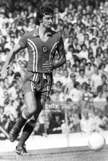 circa 1976 Ian Evans Wales the Crystal Palace defender winning 13 Wales international caps between 19761978