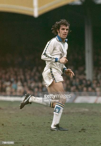 circa 1976 Joe Jordan Leeds United Joe Jordan won 52 Scotland international caps between 19731982
