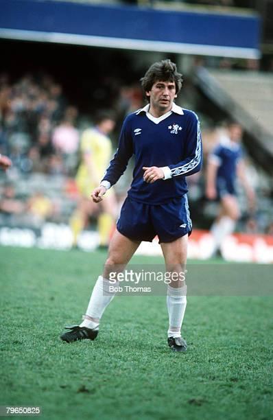 circa 1978 Ian Britton Chelsea