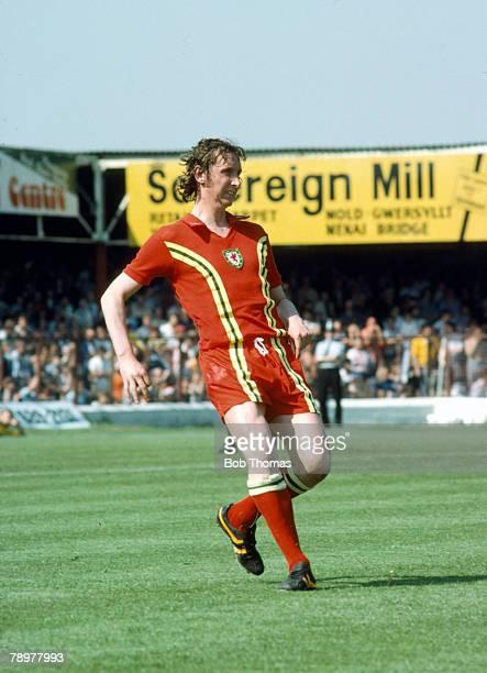circa 1978 International Football Rod Thomas Wales full back