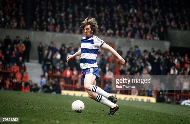 circa 1978 Stan Bowles Queens Park Rangers