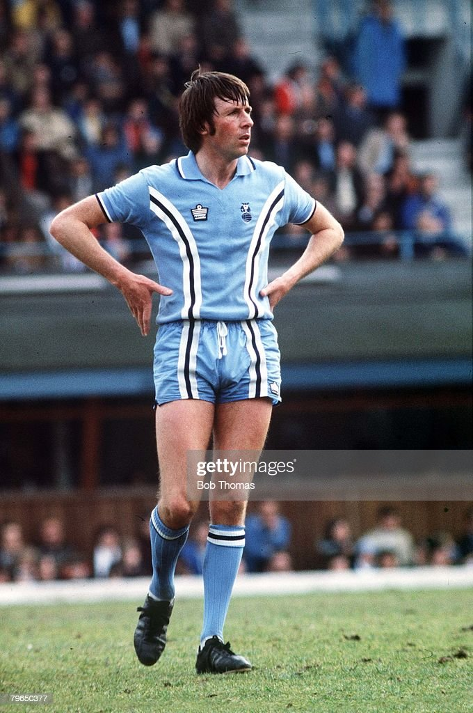 circa 1979 Mick Coop Coventry City full back who played over 400 games for Coventry 19661980