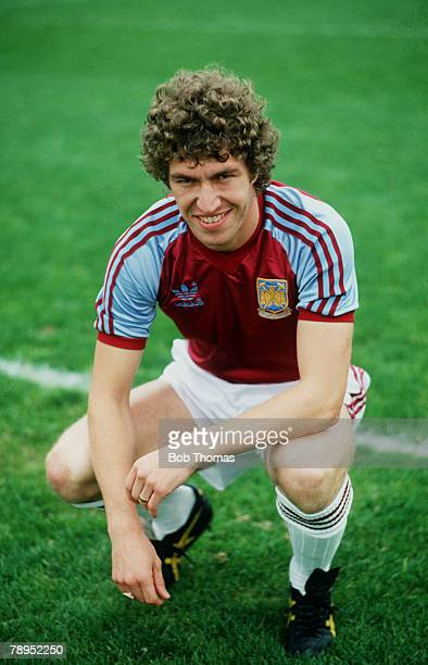 circa 1979 Pat Holland West Ham United