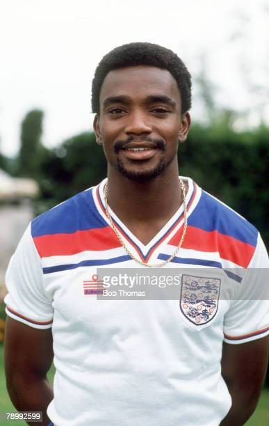 circa 1980 Laurie Cunningham England and who won 6 England international caps from 19791981
