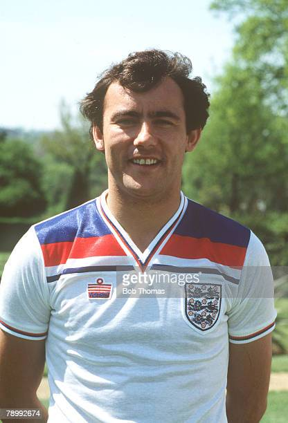 circa 1980 Ray Kennedy England and who won 17 England caps from 19761980