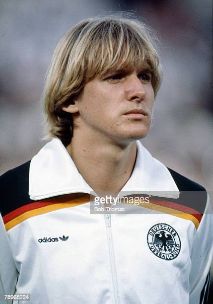 circa 1981 Bernd Schuster West Germany Bernd Schuster won 21 West Germany international caps but was often in dispute with the German Football...