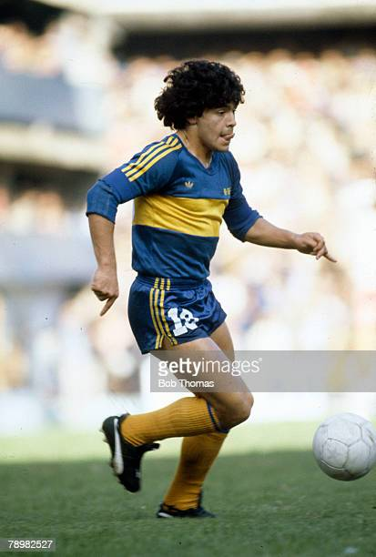 circa 1981 Diego Maradona Boca Juniors Diego Maradona won 91 Argentina international caps between 19741994