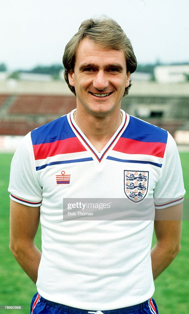 circa 1982, Dave Watson, England and(Liverpool) who won 42 England international caps between 1976-1983