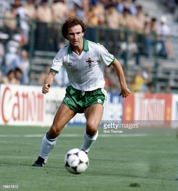 circa 1982 Martin O'Neill Northern Ireland midfielder who won 64 Northern Ireland caps between 19711984