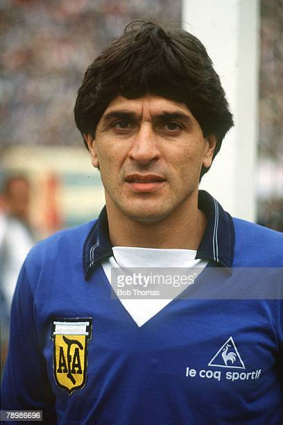circa 1982 Ubaldo Fillol Argentina goalkeeper who played in three World Cups