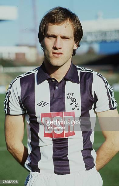 circa 1982 West Bromwich Albion's Martin Jol portrait