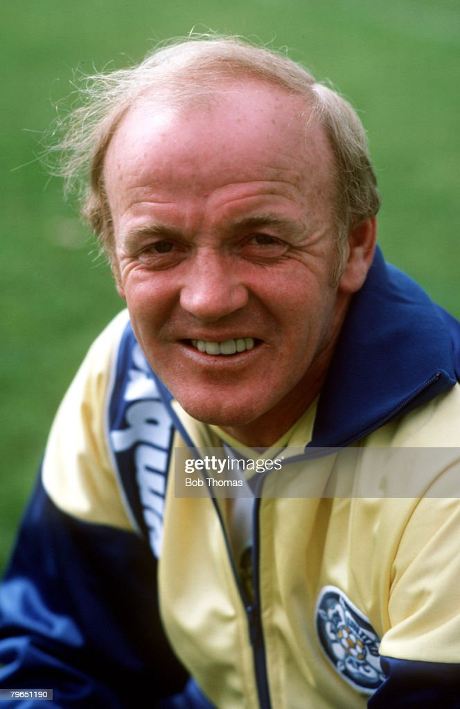 circa 1986, Billy Bremner, Leeds United Manager,