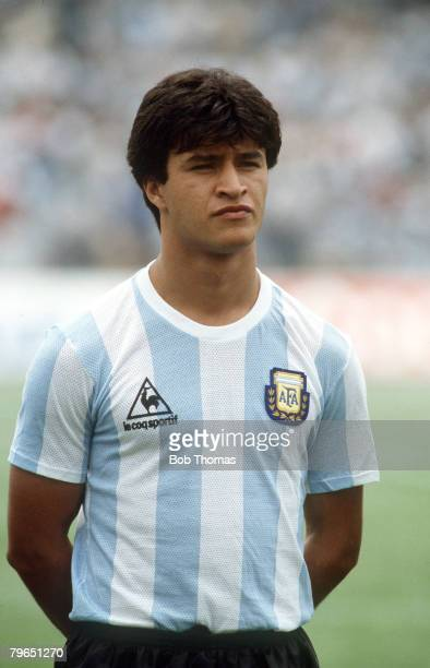 circa 1986 Claudio Borghi Argentina who was a member of the 1986 Argentinian World Cup winning squad