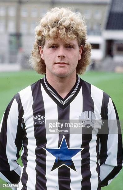 circa 1986 Paul Gascoigne Newcastle United one of England's best ever players who won 57 England international caps between 19881998