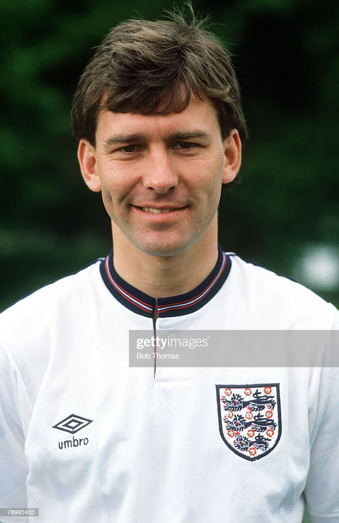 circa 1988, Bryan Robson, England and (Manchester United) who won 90 England international caps between 1980-1992