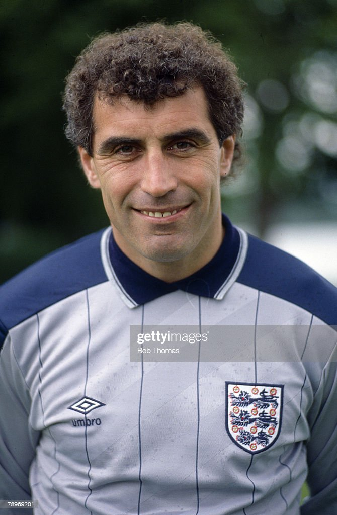 circa 1988, Peter Shilton, England goalkeeper, who won 125 England international caps (a record for England) between 1971-1990