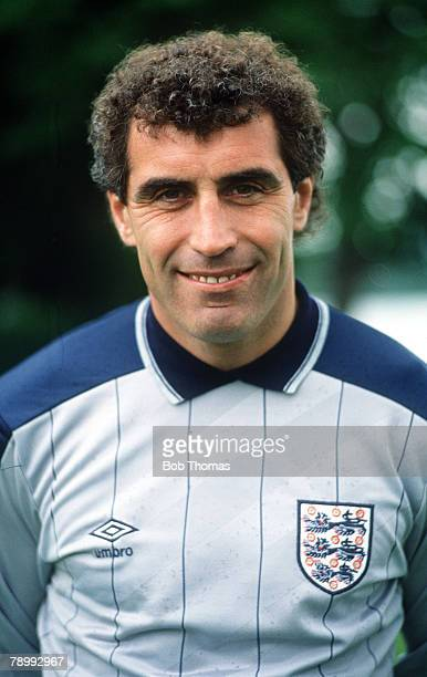 circa 1988 Peter Shilton England goalkeeper who holds the England cap record having won 125 England international caps between 19711990