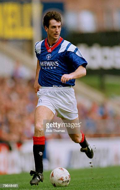 circa 1990 Scottish Premier Division Dave McPherson Rangers central defender Dave McPherson won 27 Scotland international caps between 19891993