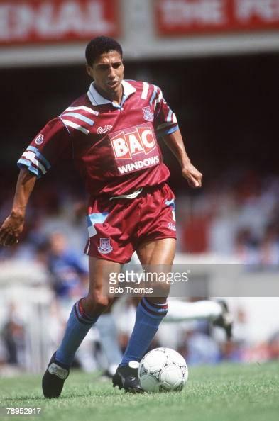 circa 1991 Chris Hughton West Ham United defender