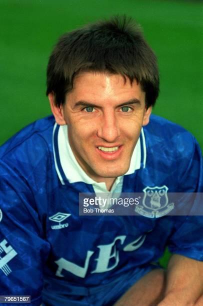 circa 1992 Peter Beardsley Everton