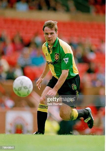 circa 1993 Brian McClair Manchester United Brian McClair played for Manchester United 19871997 and won 30 Scotland international caps between 19871993