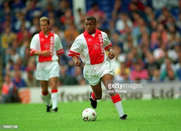 circa 1993 Edgar Davids Ajax