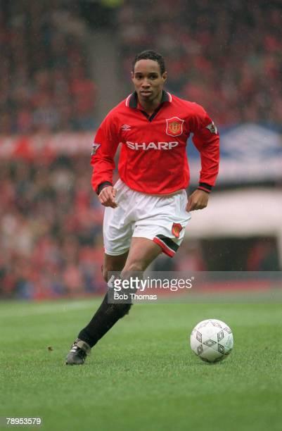 circa 1993 Paul Ince Manchester United Paul Ince won 53 England international caps between 19932000