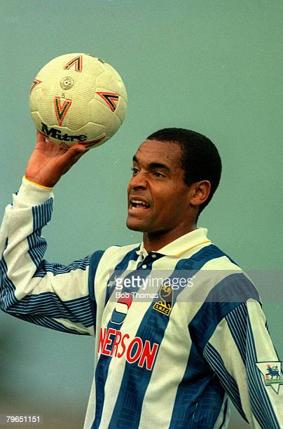 circa 1993 Sheffield Wednesday striker Mark Bright
