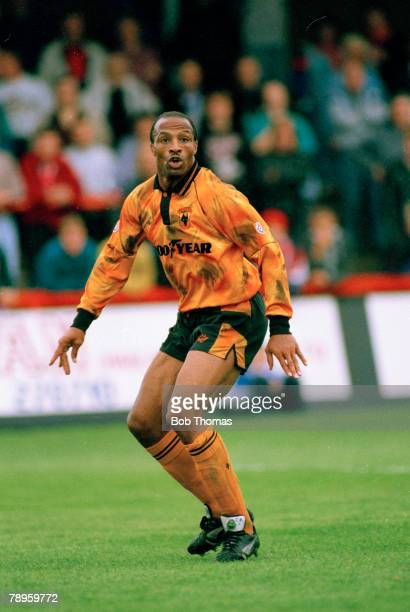 circa 1994 Cyrille Regis Wolverhampton Wanderers 19931994 Striker Cyrille Regis won 5 England international caps 19821988